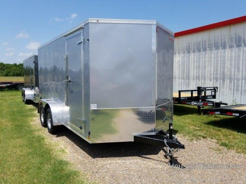 2020 Cargo Mate 7 x 14 Enclosed Cargo Trailer FR-90