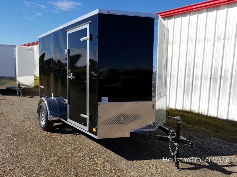 2019 Cargo Mate 10' x 6' Enclosed Cargo Trailer FR-71