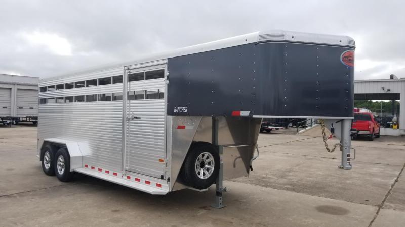 2018 Sundowner Trailers 20' GN Rancher Livestock / Cattle Trailer SD-37