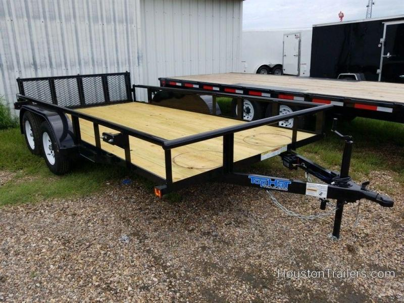 "2019 Top Hat Medium Pipe 83"" x 14' Utility Trailer TH-200"