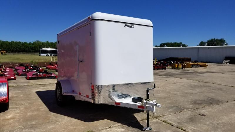 2017 Delco Trailers 6' x 10' Enclosed Cargo Trailer DEL-16