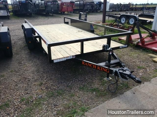 2018 Ranch King 16' Utility Trailer RK-44