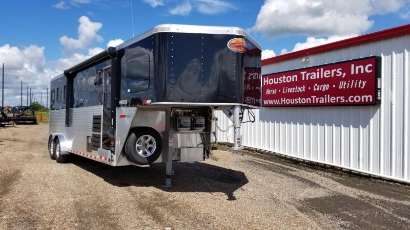 2018 Sundowner Trailers Santa Fe 6908 3 Horse LQ Trailer SD-47