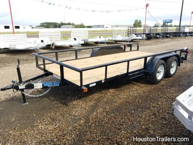 2018 Top Hat Trailers 16' x 7'  Medium Pipe Utility Trailer TH-100