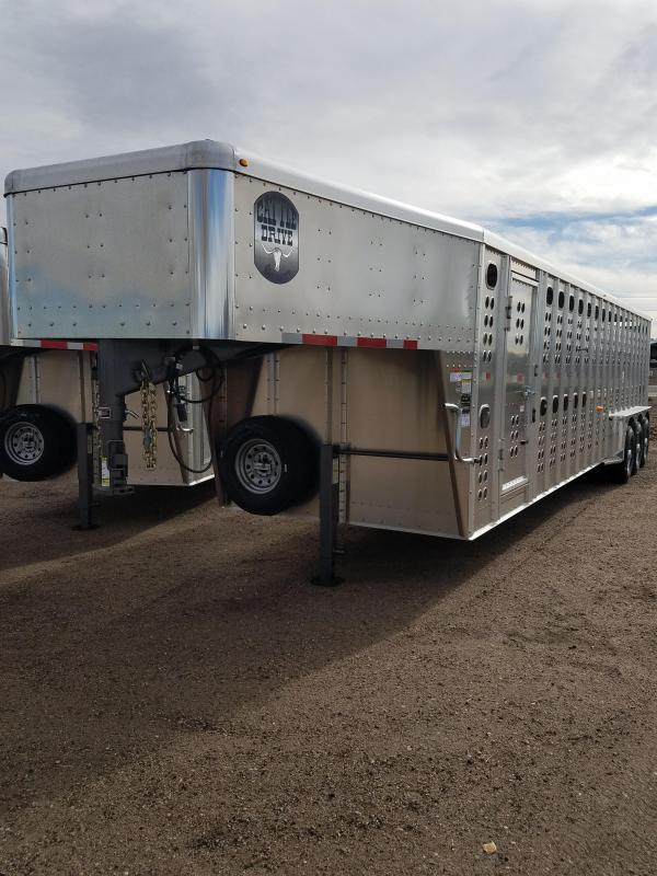 2019 Merrit Trailers 32' x 7' Stock Livestock Trailer MT-4