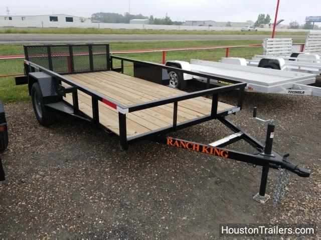 2017 Ranch King Trailers 12' x 6' Utility Trailer RK-10