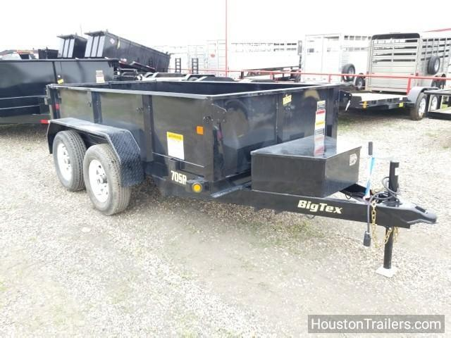 2018 Big Tex Trailers 70SR 5' x 10' Dump Trailer BX-131