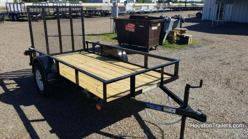 2018 Top Hat Trailers 10' x 5' DSA Utility Trailer TH-126