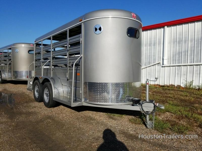 2019 W-W Trailer 14' x 5' All Around Livestock Trailer WW-101