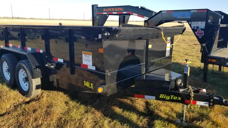"2018 Big Tex Trailers 14LX  14' x 83"" Dump Trailer BX-114"