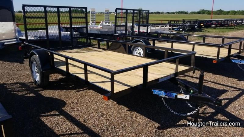 "2018 Top Hat Trailers 12' x 77"" DSA Utility Trailer TH-128"