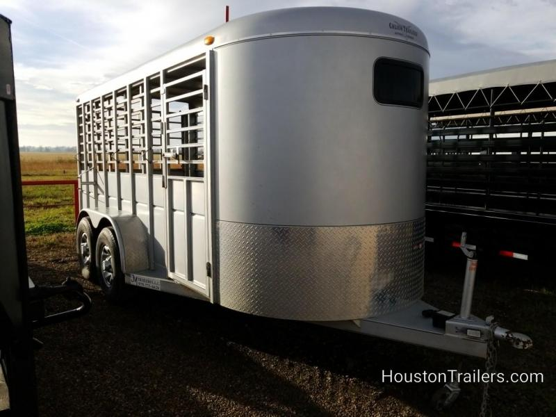 2016 Calico Trailers 16' Livestock Trailer 8076