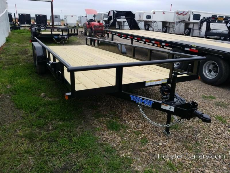 2019 Top Hat Trailers 20' XLP Utility Trailer TH-165