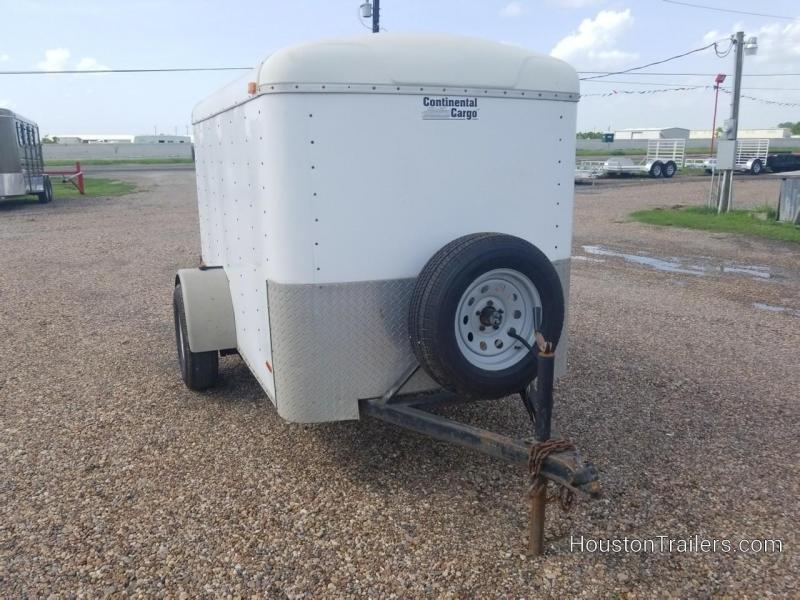 1999 Continental Cargo 5x8 Enclosed Cargo Trailer 8063