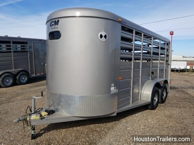 2015 CM Trailers 16' Stocker Livestock Trailer CO-1028