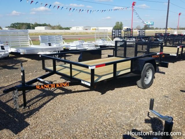 2018 Ranch King 10' x 6' Utility Trailer RK-49