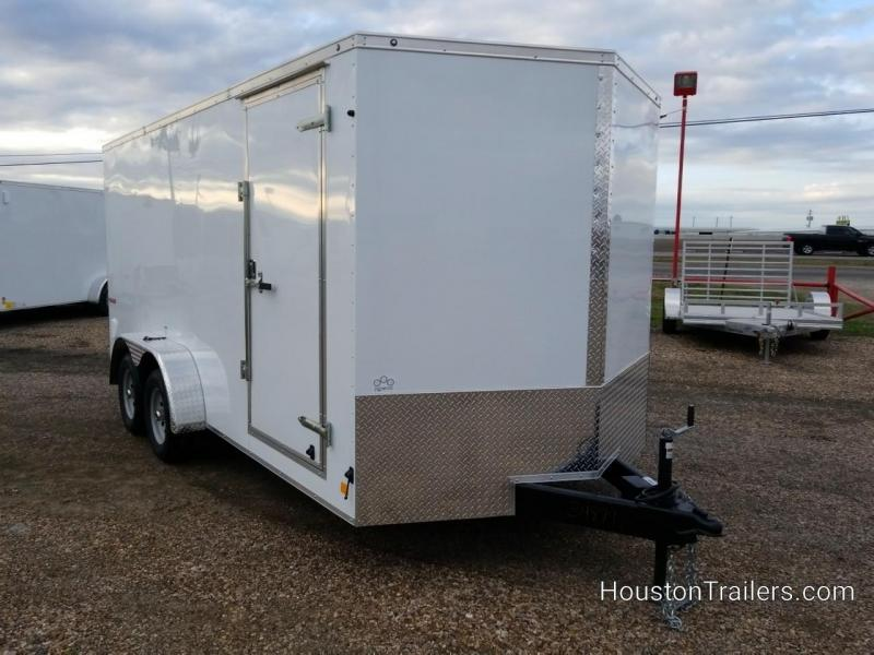 "2019 Cargo Mate 7' x 16' x 6'6"" Enclosed Cargo Trailer FR-72"