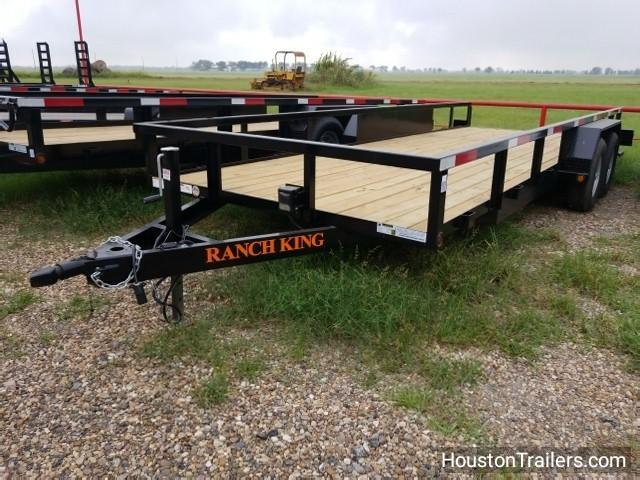 "2017 Ranch King Trailers 20' x 6'10"" Utility Trailer RK-32"