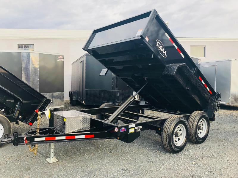 CAM 2018 6' x 10' LOW PROFILE DUMP TRAILER