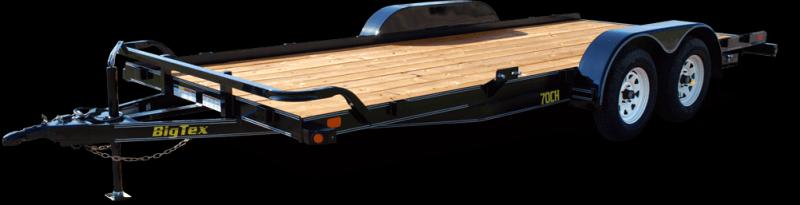 BIGTEX 2017 70CH 7' x 18' CAR HAULER