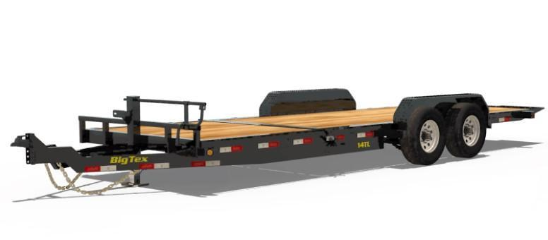 BIGTEX 2019 14TL  6.5'' x 22' SUPER DUTY TILT BED EQUIPMENT TRAILER