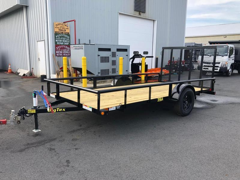 BIGTEX 2019 35SA SINGLE AXLE 6.5' x 14' LANDSCAPE / UTILITY TRAILER