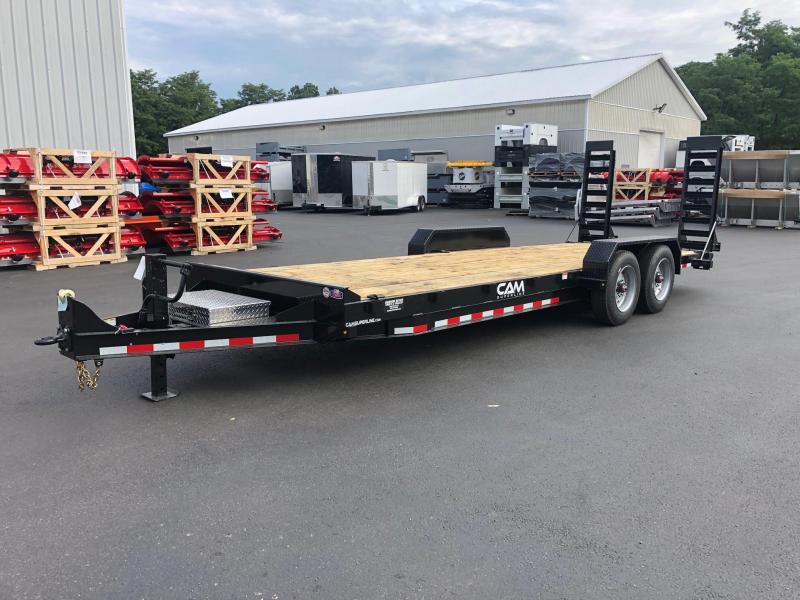 CAM 2020 8.5' x 22' CHANNEL FRAME EQUIPMENT HAULER