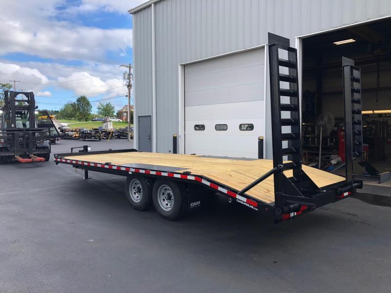 CAM 2019 6-TON 8.5' X 22' STANDARD DUTY DECKOVER CONSTRUCTION TRAILER