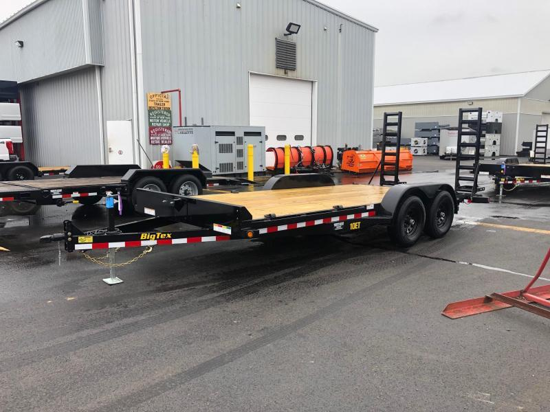 BIGTEX 2020 7 X 16' 10ET Pro Series Tandem Axle Equipment Trailer