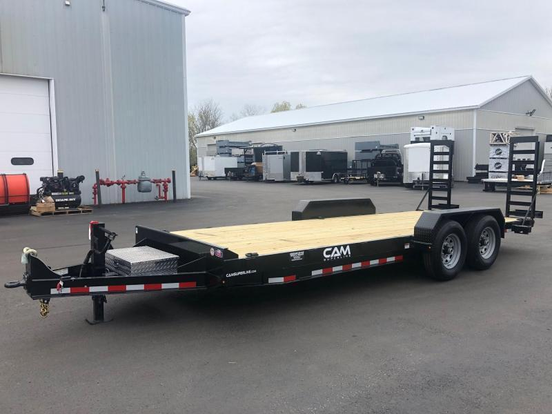 CAM 2020  8.5' X 18'  6-TON EQUIPMENT HAULER - ANGLE FRAME