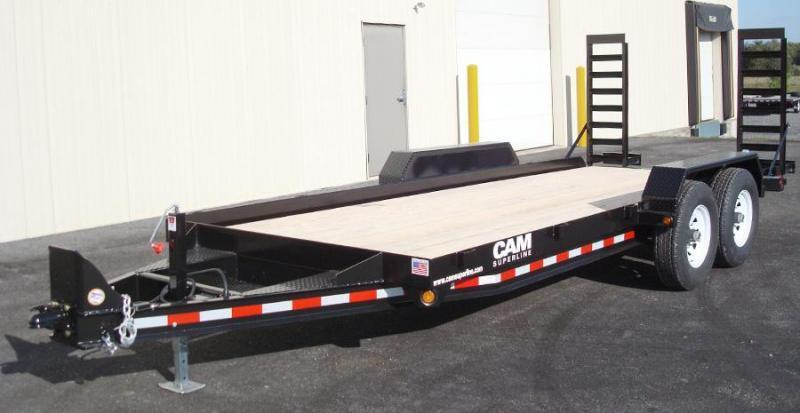 CAM 2019  8.5' X 20'  6-TON EQUIPMENT HAULER - ANGLE FRAME