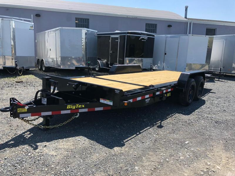 BIGTEX 2018 16TL-20 SUPER DUTY TILT BED EQUIPMENT TRAILER  7' x 20'