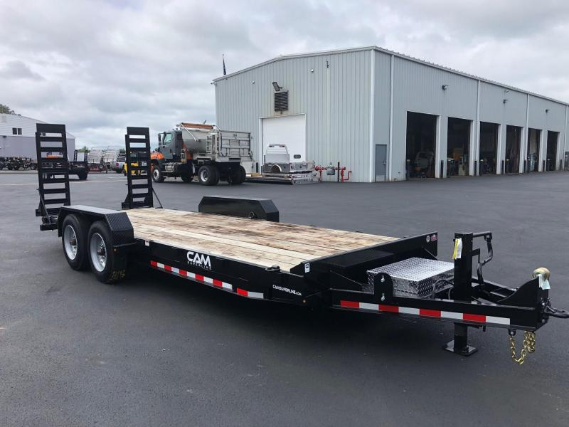 CAM 2019 8-TON 8.5' X  20' CHANNEL FRAME EQUIPMENT HAULER