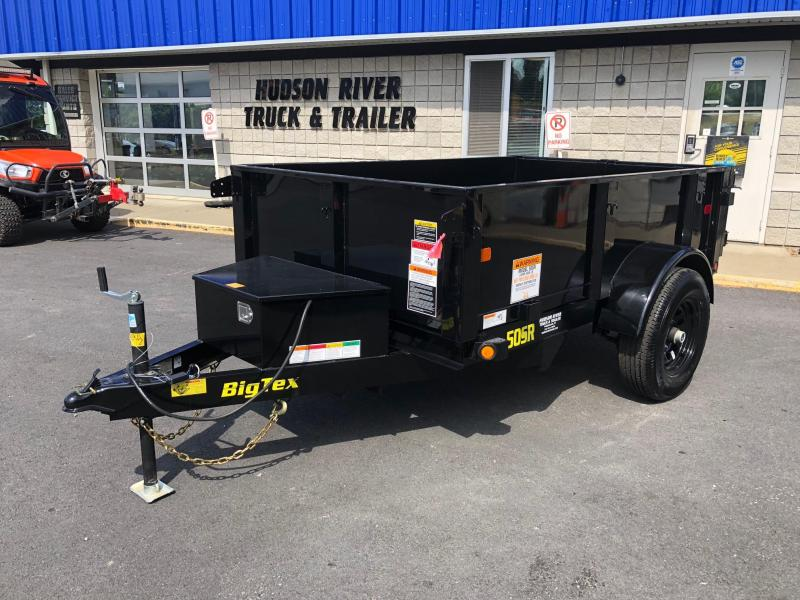 BIGTEX 2019 5' X 8' SINGLE AXLE SINGLE RAM DUMP TRAILER