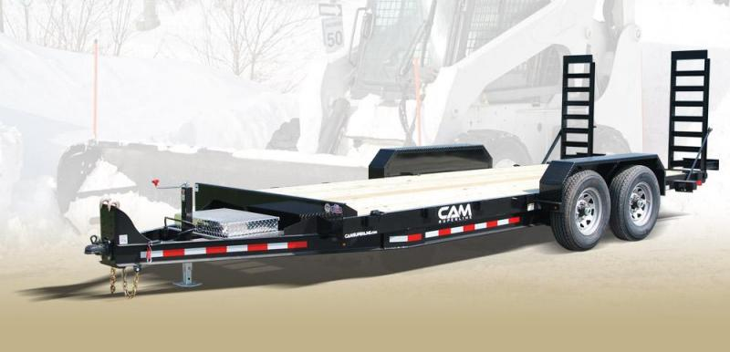 CAM 2018 8.5' x 18' CHANNEL FRAME EQUIPMENT HAULER