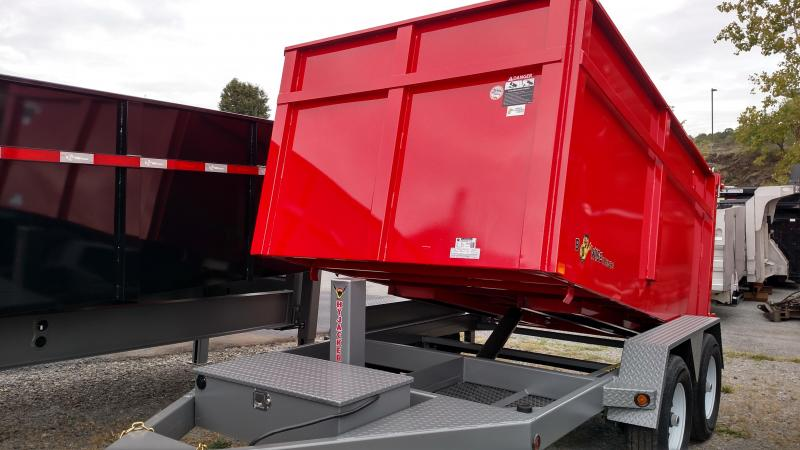 BWISE 2017 6' x 10'  RED DUMP TRAILER