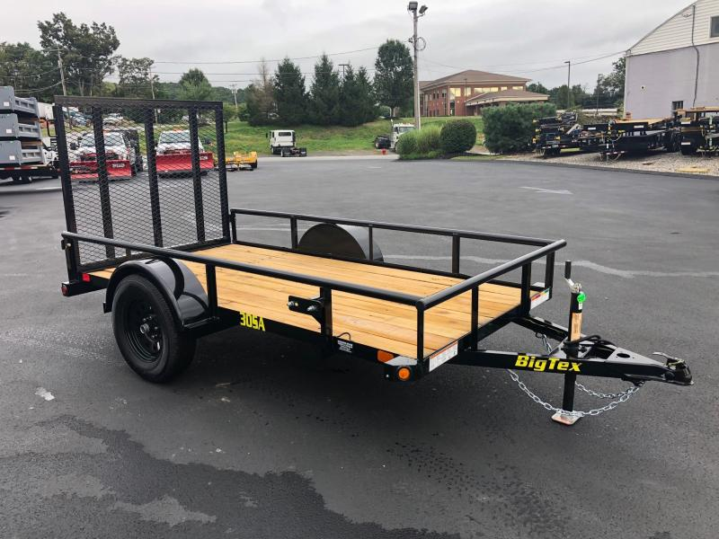 BIGTEX 2019 30SA SINGLE AXLE 5' x 10' LANDSCAPE / UTILITY TRAILER