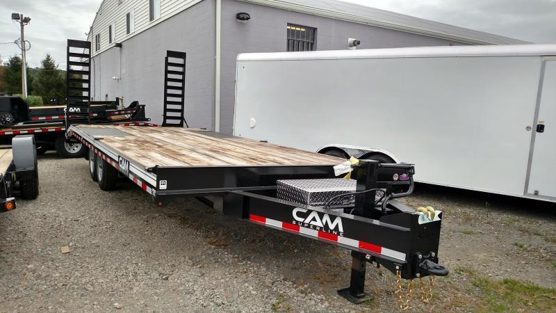 CAM 2019 8 X 24 DECKOVER EQUIPMENT TRAILER