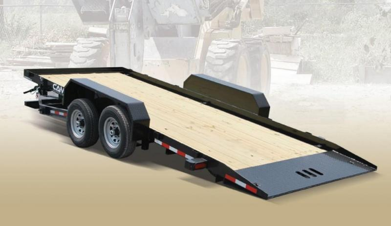 CAM 2018 7 TON 8.5' x 20' FULL TILT LOW PROFILE UTILITY TRAILER