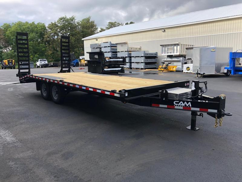 CAM 2020 7-TON 8.5' X 22' HEAVY DUTY DECKOVER CONSTRUCTION TRAILER