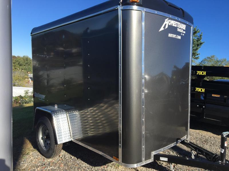 Homesteader 2019  5' x 8' Gray Challenger Enclosed Cargo Trailer