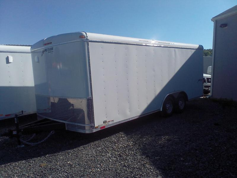 HOMESTEADER 2018 8 x 20' WHITE HERCULES ENCLOSED TRAILER