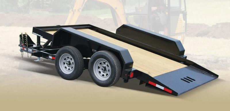 CAM 2018 6' x 12'  5-TON BLACK FULL TILT TRAILER