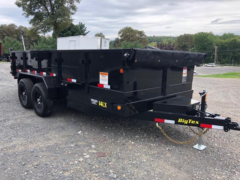 BIGTEX 2019 7' x 16'  14LX Heavy Duty Tandem Axle Dump