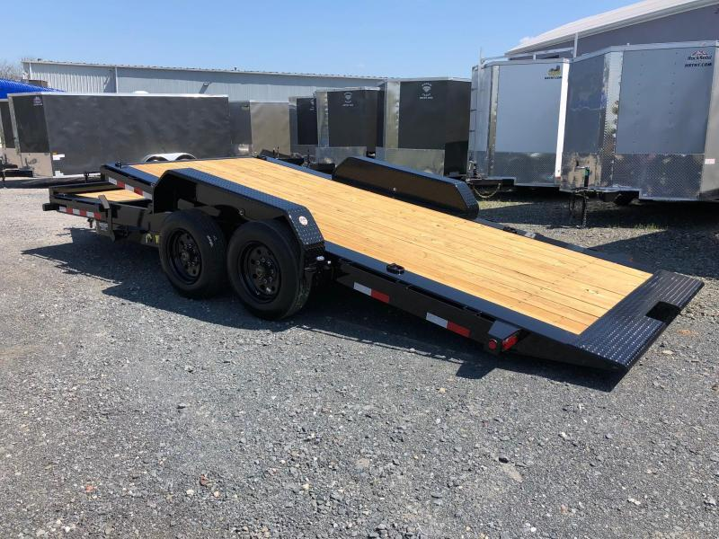 BIGTEX 2020 16TL 7' x 22' SUPER DUTY TILT BED EQUIPMENT TRAILER  17500 GVW