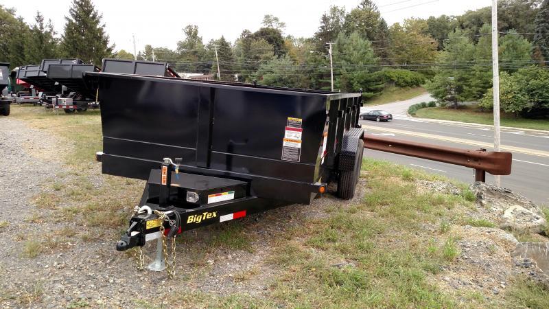 BIGTEX 2017 7' x 12' Heavy Duty Tandem Axle Extra Wide Dump