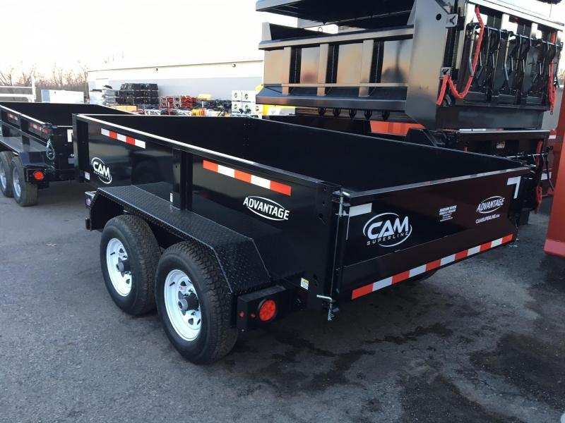 CAM 2017 6' x 10' LOW PROFILE DUMP TRAILER