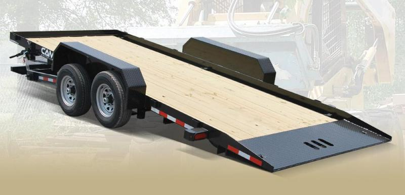 CAM 2018 7 TON 8.5' X 18' BLACK FULL TILT TRAILER