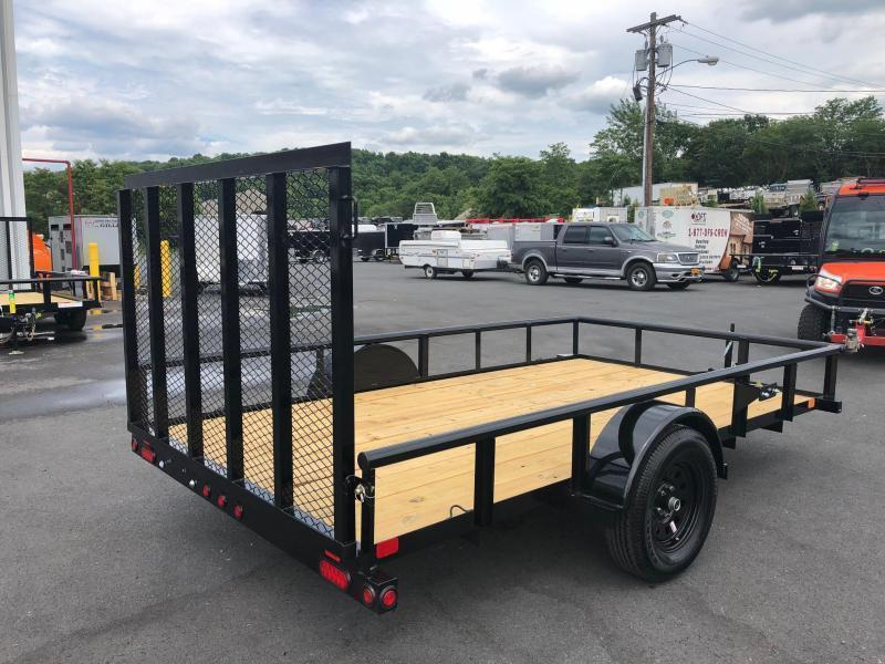 BIGTEX 2019 35SA 6.5' x 14' SINGLE AXLE LANDSCAPE / UTILITY TRAILER