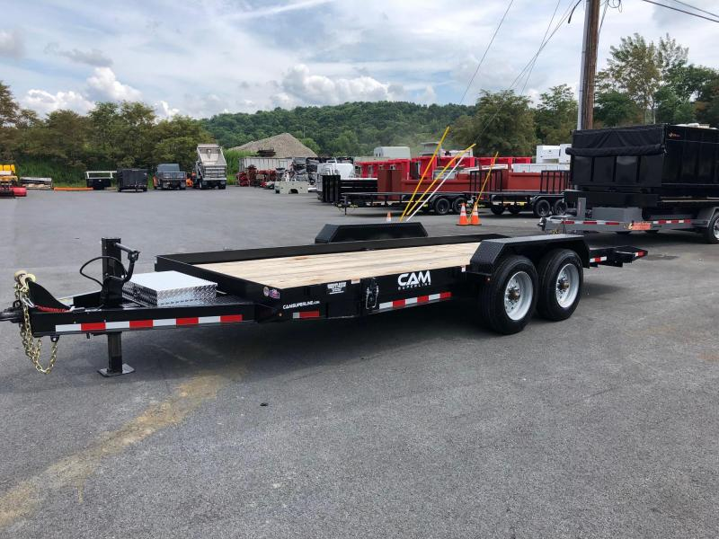 CAM 2019 8-TON 8' X 20' FULL TILT LOW PROFILE TRAILER
